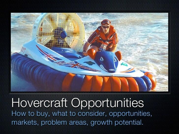 Hovercraft Opportunities