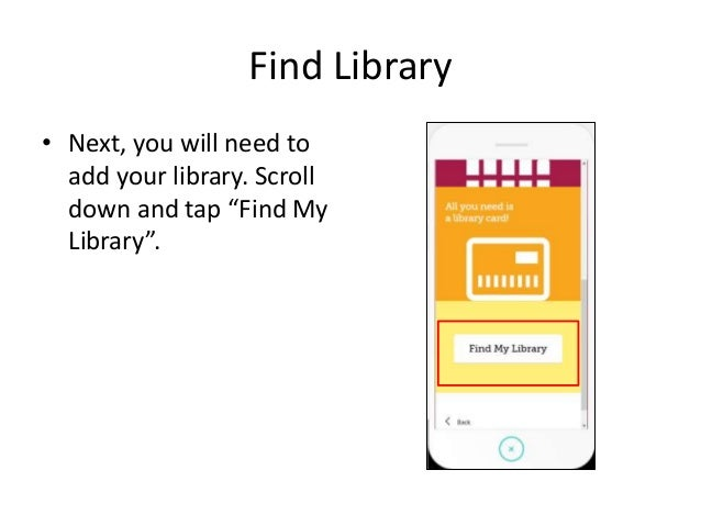 How.to.use.libby.from.over drive Slide 3