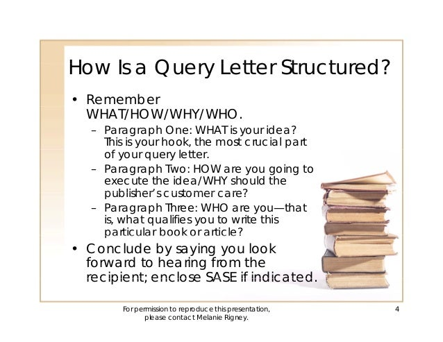 How to build better query letters and book proposals 3 4 spiritdancerdesigns Choice Image
