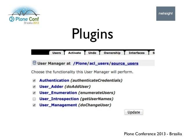 Plone Conference 2013 - Brasilia Plugins