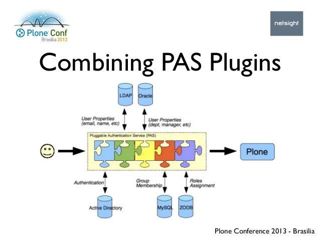 Plone Conference 2013 - Brasilia Combining PAS Plugins
