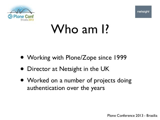 How to get started with the Pluggable Authentication System Slide 2