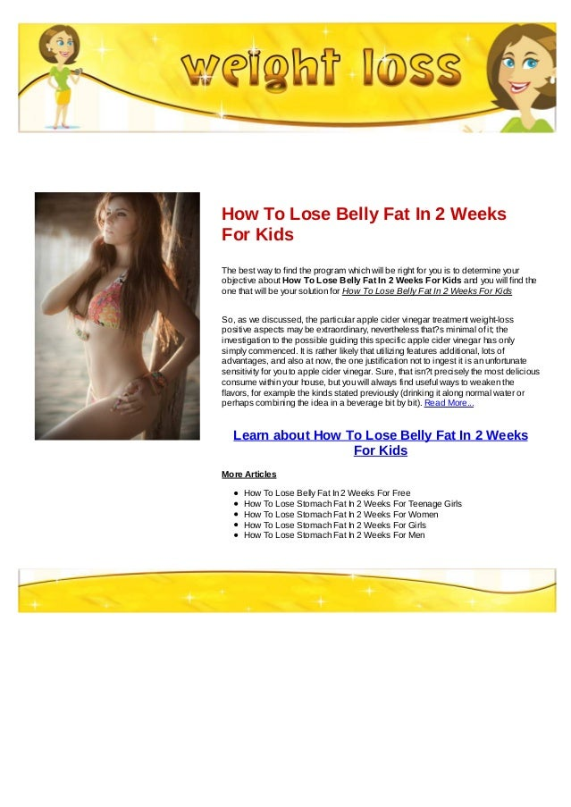 How to lose belly fat fast image 2