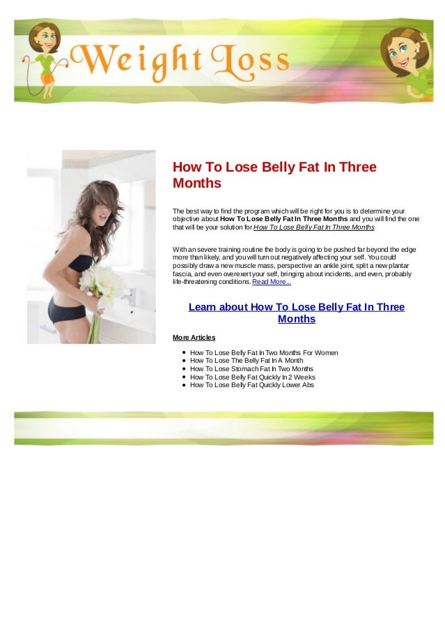 how to lose your belly fat in 1 week