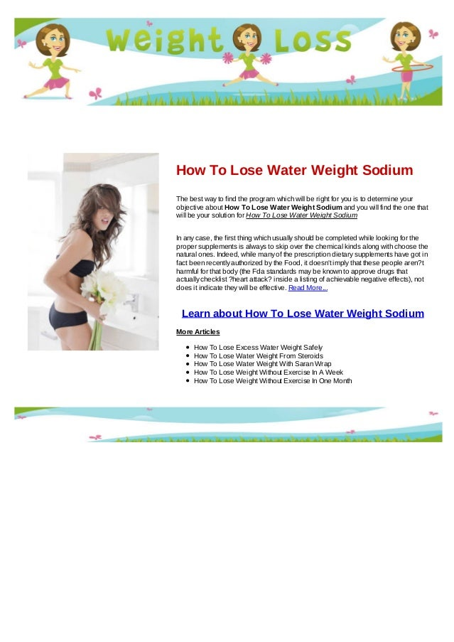 How to lose belly fat not weight