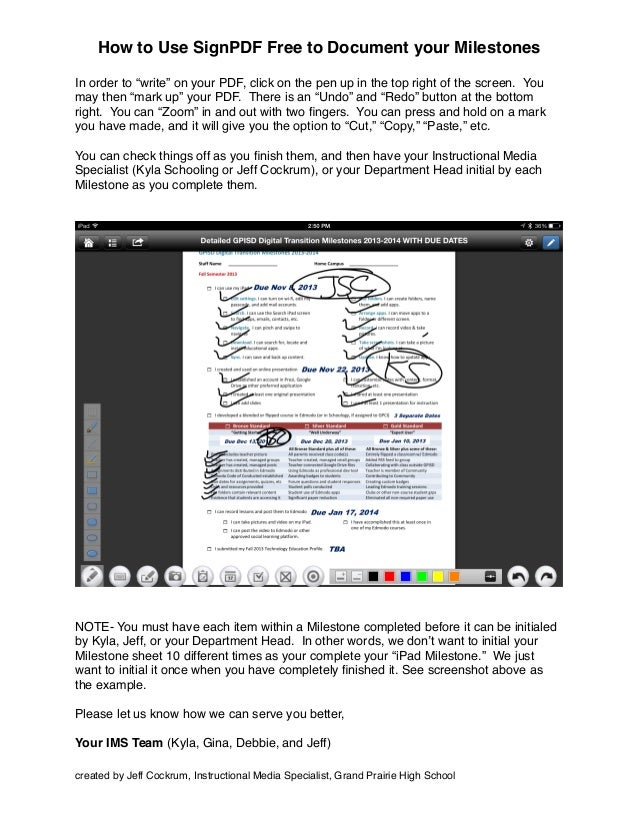 How To Use Sign Pdf To Document Your Milestonespdf - Out of order sign pdf
