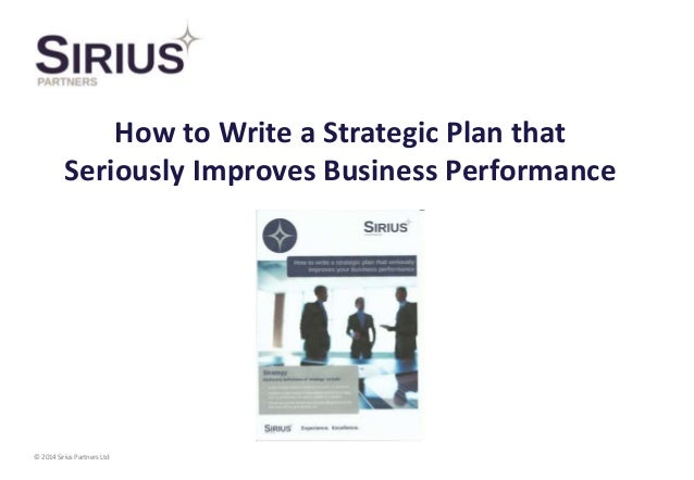 How to Write a Strategic Management Plan for Technology Implementation