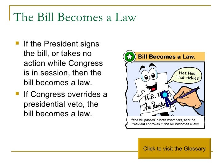 how a bill becomes law How a bill becomes a law in florida  the florida legislature meets once a year for 60 days to address the needs of our state.