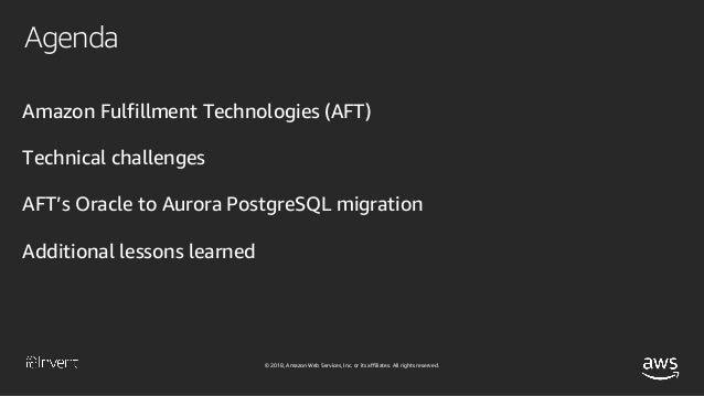 How Amazon.com Migrates Inventory Management Systems (DAT346) - AWS re:Invent 2018 Slide 3