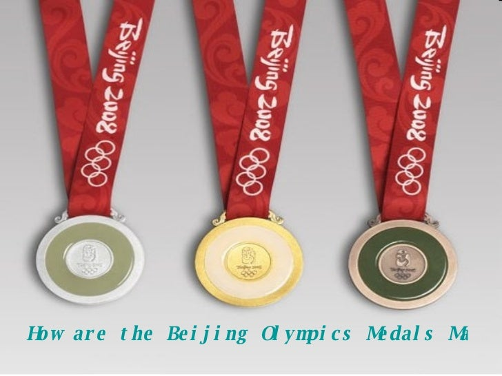 How are the Beijing Olympics Medals Made?