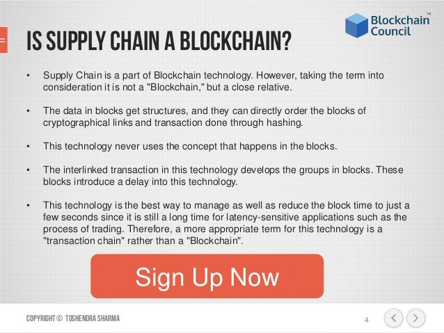 Technology Management Image: How Blockchain Can Be Used In Supply Chain Management