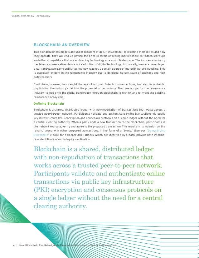 Blockchain technology revamping