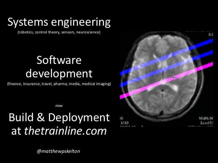 How build and deployment should shape software architectures Slide 2