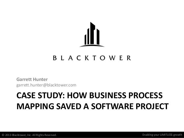 Enabling your limitless growthEnabling your LIMITLESS growth CASE STUDY: HOW BUSINESS PROCESS MAPPING SAVED A SOFTWARE PRO...
