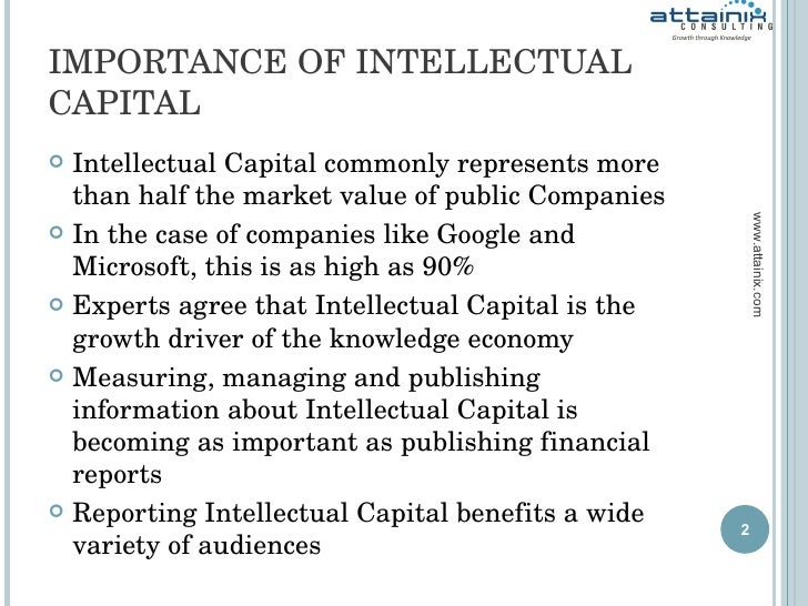 intellectual capital valuation The bulk of traditional corporate valuation methods reflect historical performance, while it is necessary to also take into consideration the value which is off-balance-sheet and possible.