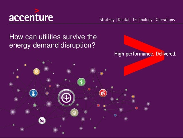 How can utilities survive the energy demand disruption?
