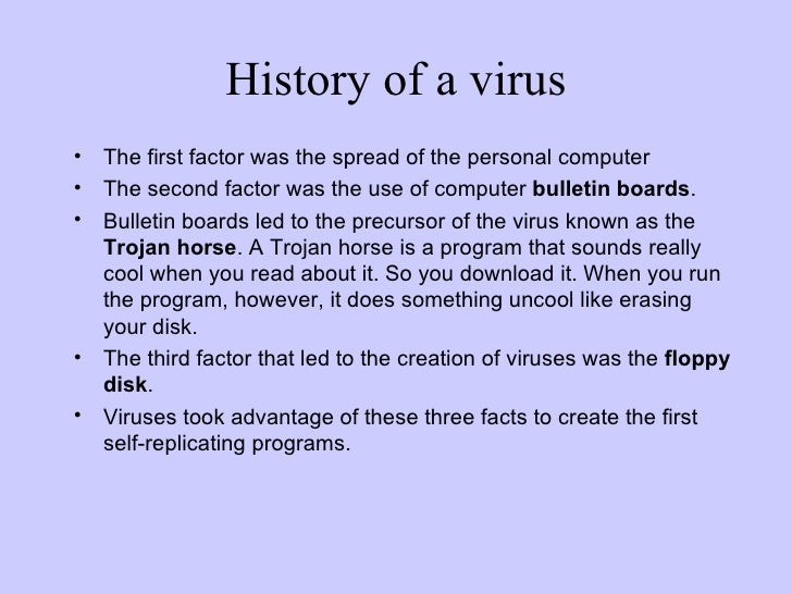 Timeline of computer viruses and worms