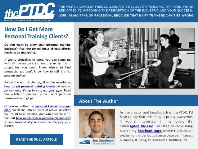 498533e03ce How Do I Get More Personal Training Clients