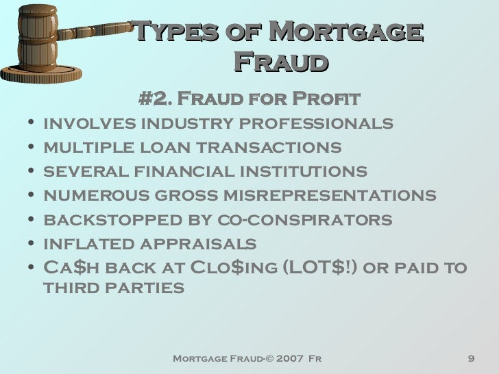 Affectingyou: How Does Mortgage Fraud Affect You Orion