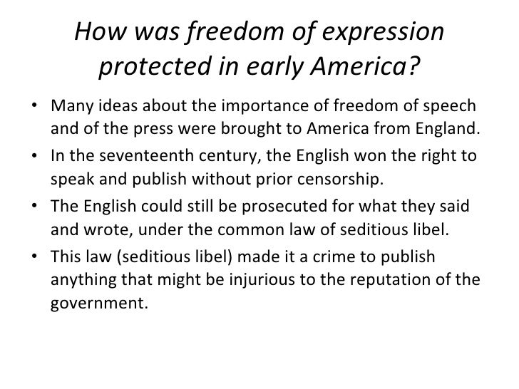 the importance of freedom of expression 126 quotes have been tagged as freedom-of-expression: men are never afraid of freedom of thought and freedom of expression of that's important.
