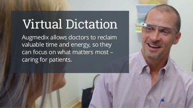 How Google Glass Will Change Healthcare Slide 2