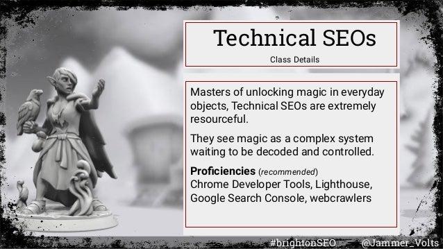 How Googlebot Renders (Roleplaying as Google's Web Rendering Service-- D&D style) Slide 3