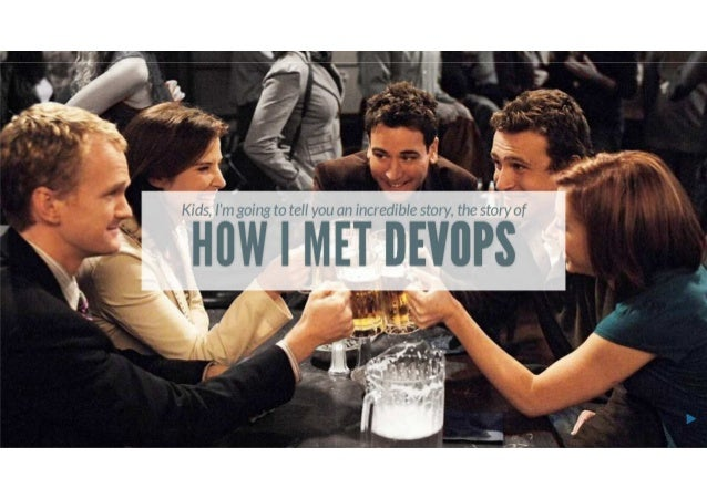 How I met DevOps Agile Tour Clermont-Ferrand 2013