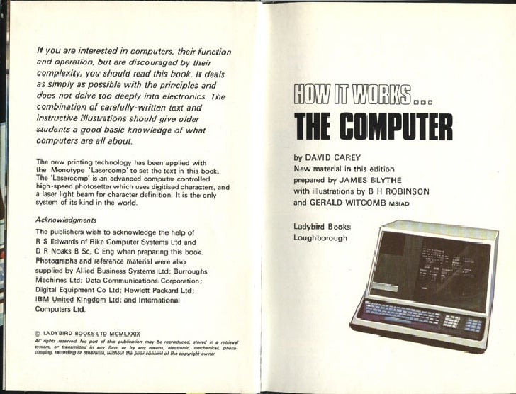 How It Works   The Computer (1979 Edition) Slide 3