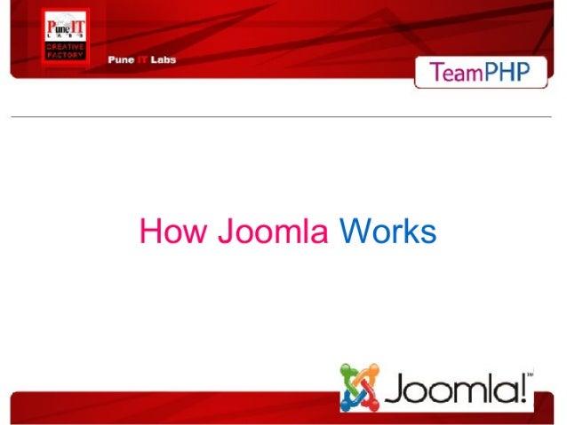 How Joomla Works