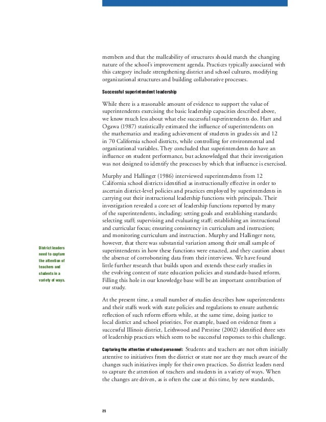 the influences of leadership practices on Executive summary - how leadership influences how leadership influences more-specific sets of leadership practices significantly and positively.