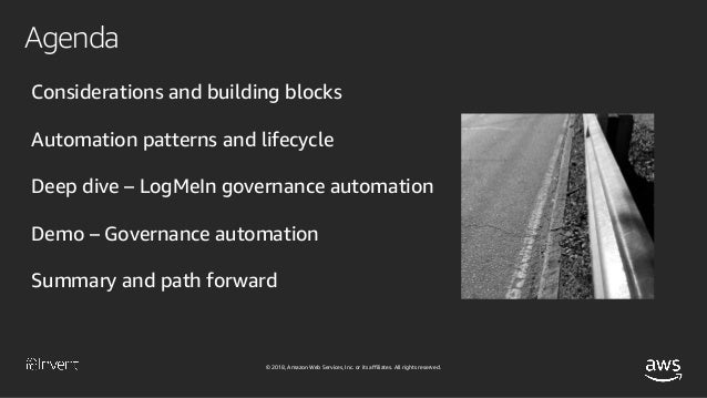 How LogMeIn Automates Governance and Empowers Developers at Scale (SEC302) - AWS re:Invent 2018 Slide 3