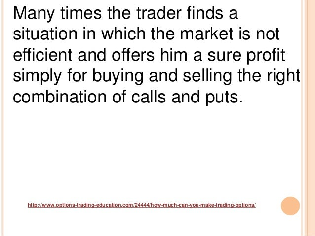How much can u make trading options