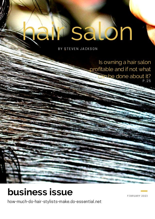 hair salon Is owning a hair salon profitable and if not what can be done about it? business issue how-much-do-hair-stylist...