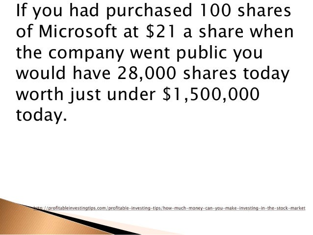 Can you make money on stock options
