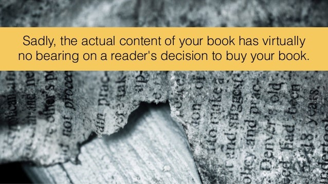 How People Really Judge a Book Slide 3