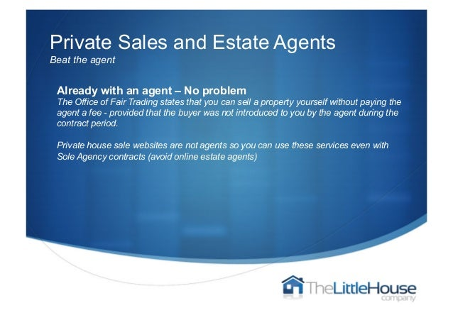 Selling property without a real estate agent uk 5 private sales and estate agentsbeat the agent solutioingenieria Choice Image