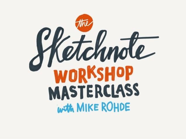 HOW Design Live 2017: Sketchnote Masterclass