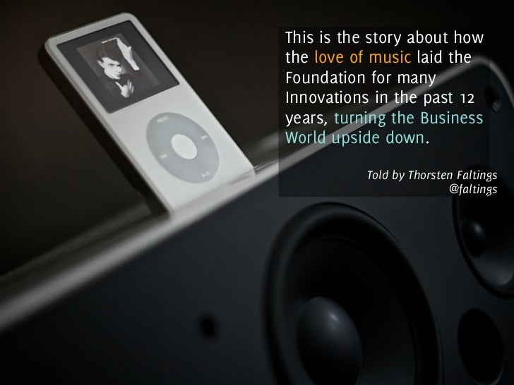 How The Love of Music has changed our Business World Slide 3