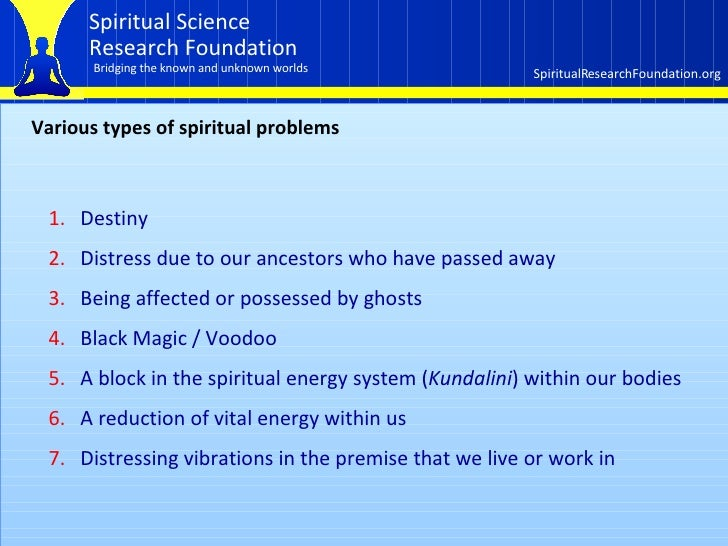 How the spiritual dimension affects our lives  Part 3 of 3 Slide 3
