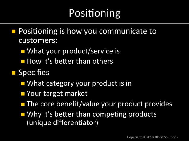 Product  Space  vs.  Solu7on  Space  n NASA:  space  pen  ($1  M  R&D  cost)  n Russians:  pencil  n Product  Space  n...