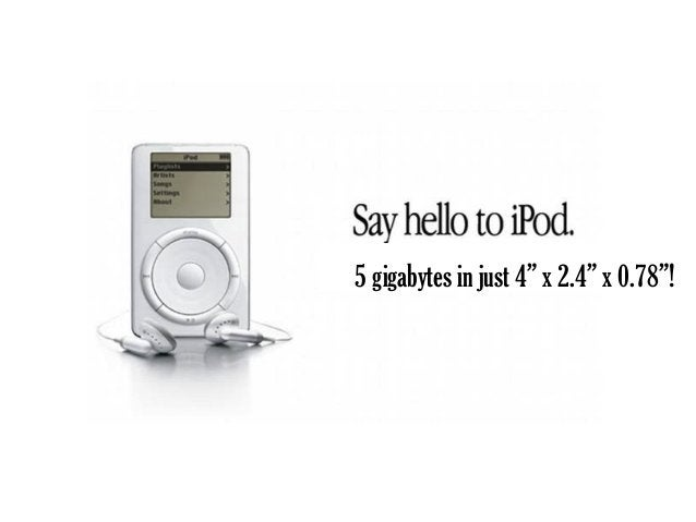 Lets you listen to a large number of  songs when you're on the go!