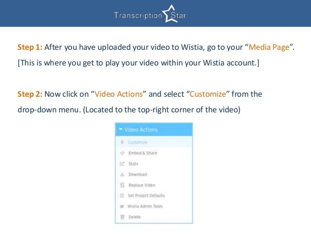 Adding Closed Captions To Wistia Videos - A Quick Solution