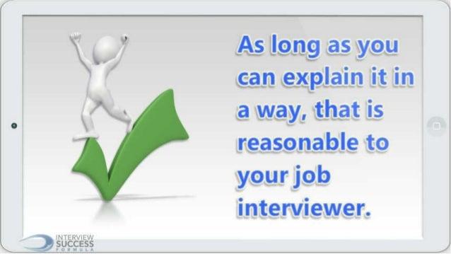 how to explain reason for leaving job