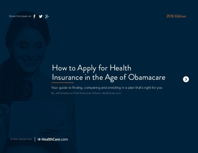 How to Apply for Health Insurance in the Age of Obamacare