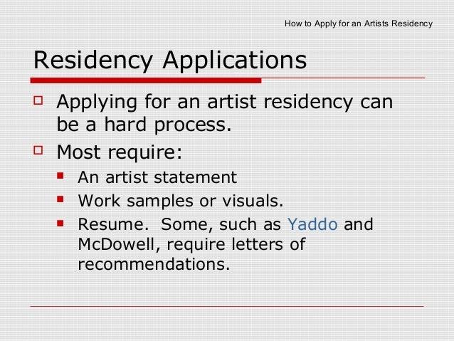 How to Apply for an Artist Residency for Photographers, Artists: 11 Tips, by Steve Giovinco Slide 3