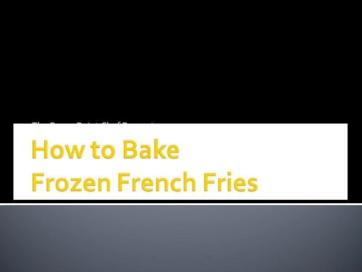 The PowerPoint Chef Presents…