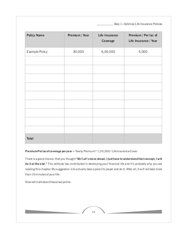 how to be your own financial planner pdf