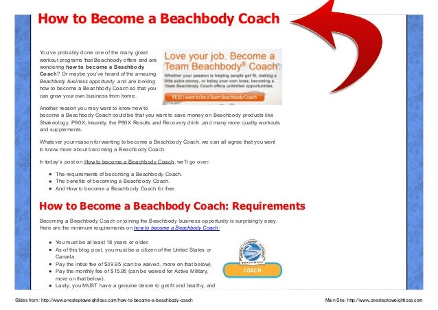 How to Become a Beachbody Coach & For Free