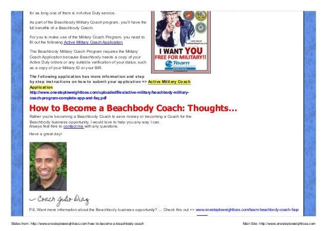 how to become a successful beachbody coach