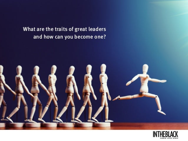How to become a better leader Slide 2